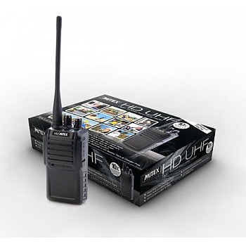 NEW - Mitex HD UHF Walkie Talkie (IP65)