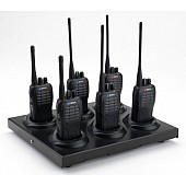 Mitex 6 Way Charger + 6 Two Way Radio's